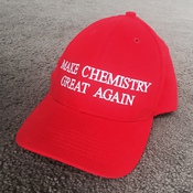TRUMP Make Chemistry Great Again Cap