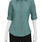 Chefworks Ladies Chambray Shirt