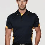 Tasman Mens Cooldry Polo