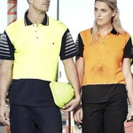 Syzmik Workwear Womens Hi Vis Zone Polo ZHL236