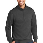 Port & Company Core Fleece 1/4-Zip Pullover Sweatshirt