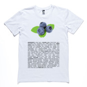 Classic Blueberries T-Shirt MEN